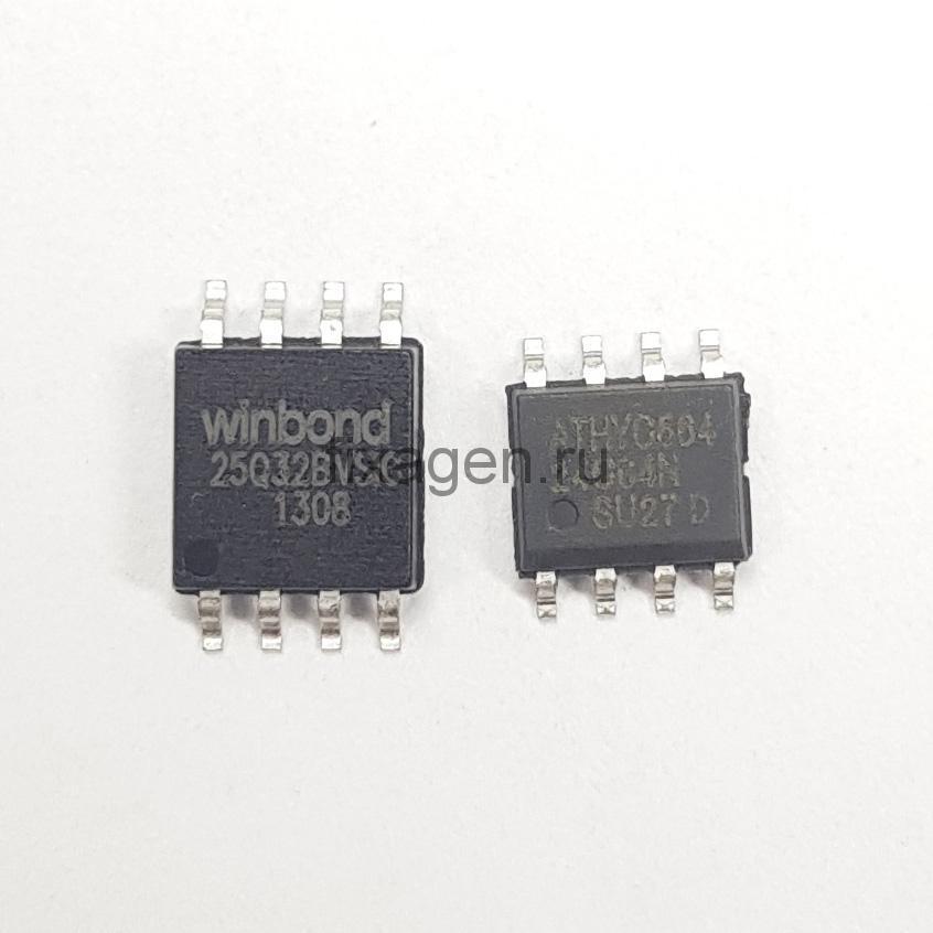 Samsung SCX-3400, SCX-3405 прошитые фикс прошивкой микросхемы 25Q32, 24С64